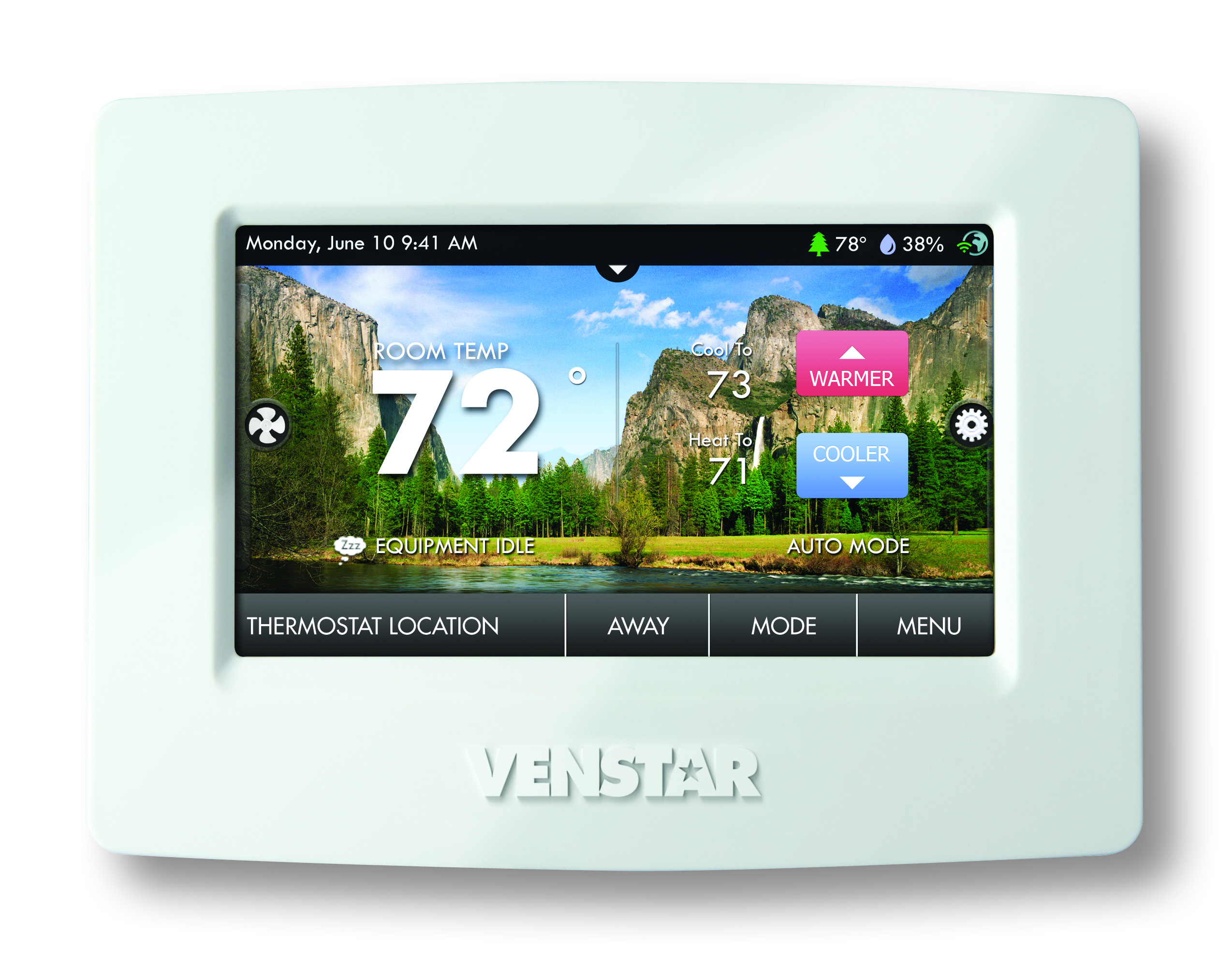 WiFi a/c thermostat without a cloud