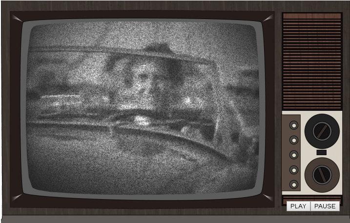 Vintage TV – Javascript Style
